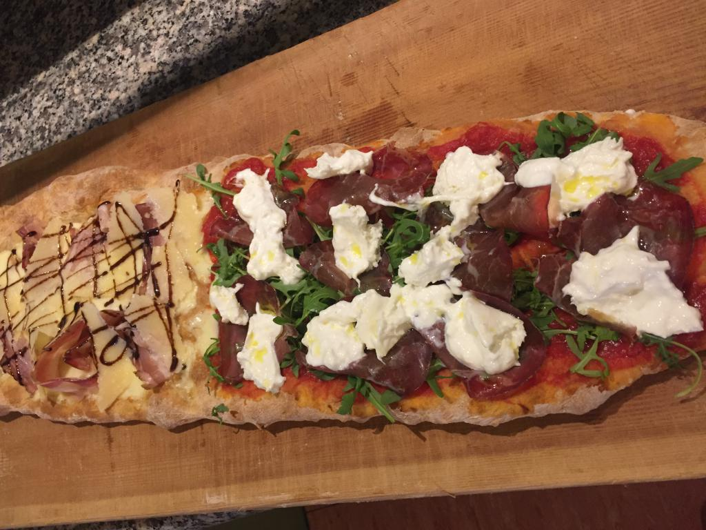 pizza caminetto